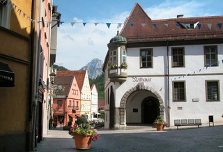 Historic center of Füssen